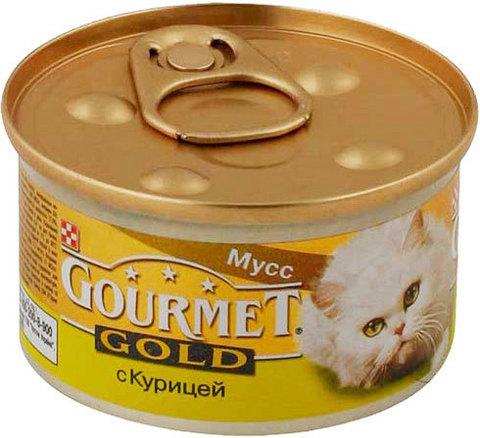 Gourmet Паштет Gourmet Gold с курицей для кошек 85 г