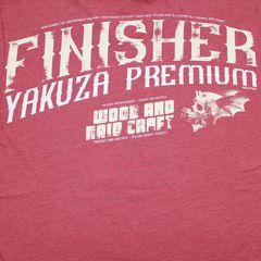 Футболка красная Yakuza Premium 3006