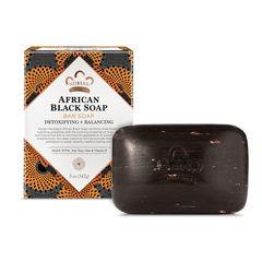 Sabun \ Мыло \ Soap Nubian Heritage, African Black Bar Soap, 5 oz (142 g)