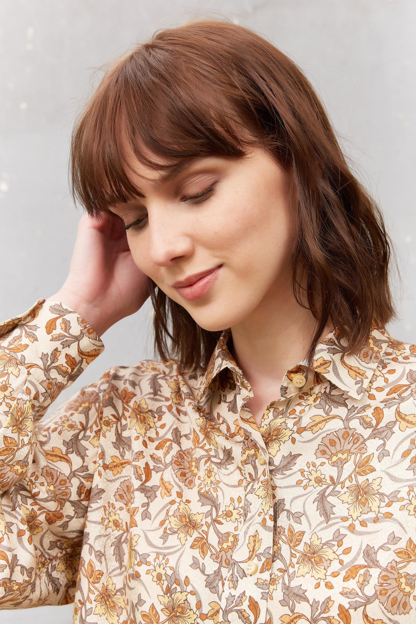 CLYDE - Рубашка с цветочным принтом