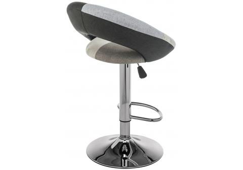Барный стул Cody 54*54*79 Хромированный металл /Серый