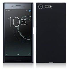Силиконовый чехол для Sony Xperia XZ Premium (Черный)