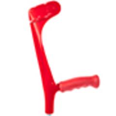 Костыль под локоть Ergo-Softgrip с резиновой ручкой