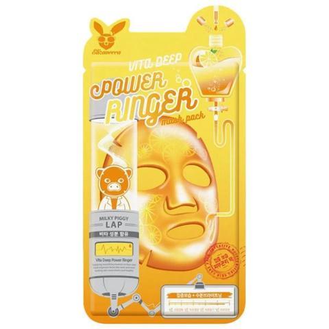 Elizavecca Тканевая маска с витаминным комплексом Power Ringer Mask Pack Vita Deep
