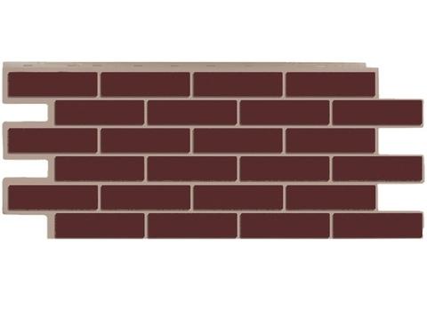 Фасадная панель Керамит - Коричневый