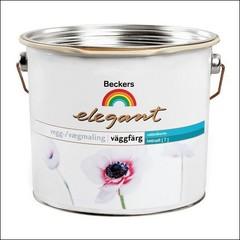 Краска для стен BECKERS ELEGANT VAGGFARG HELMATT База А (Белый)
