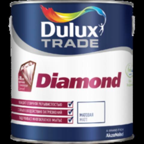 Dulux Diamond Matt Матовая износостойкая интерьерная краска.