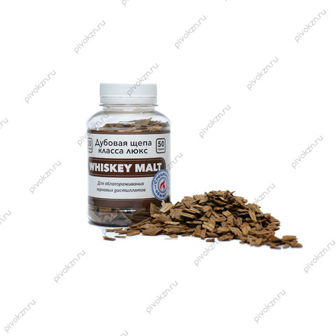 Щепа дубовая Whiskey Malt, 50 г