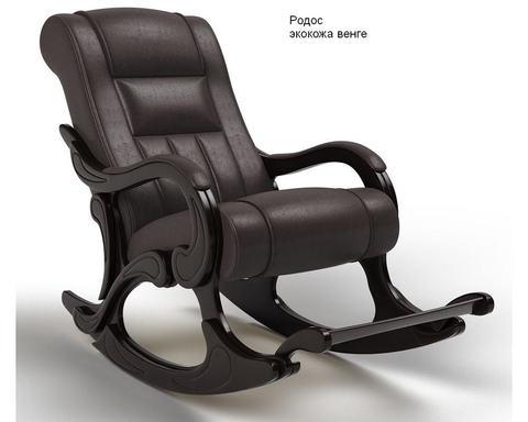 Кресло-качалка с подножкой Родос (Модель 77) экокожа
