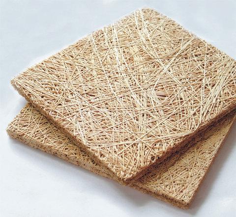 Акустическая панель WOOD WOOL  БАЗОВАЯ  на основе древесного волокна 25mm