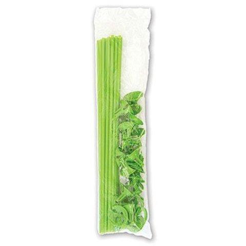 Комплект Палочка+Розетка Зеленые, 25шт