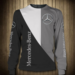 Толстовка 3D принт, Mercedes-Benz (3Д Свитшот Мерседес-Бенц) 02