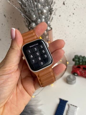 Ремешок Apple Watch 38/40 mm Leather Link /brown/