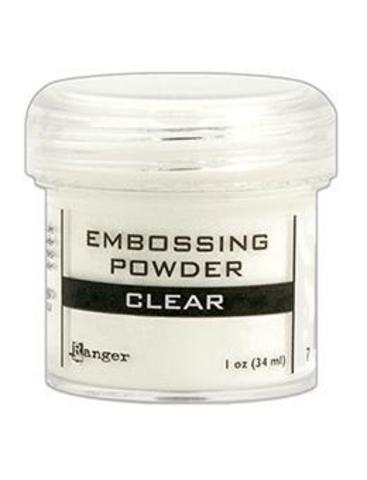 Пудра для эмбоссинга Ranger Ink- CLEAR