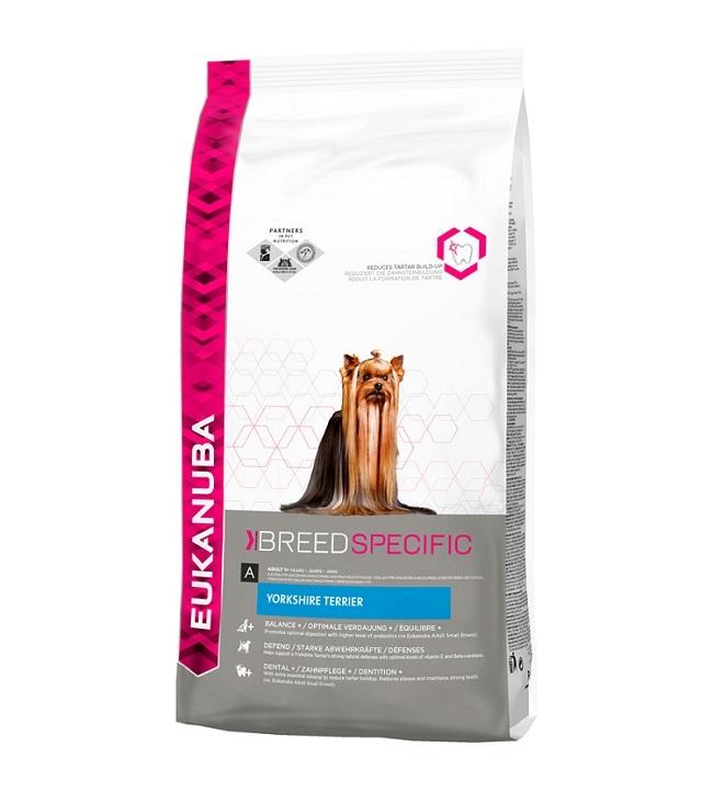 Eukanuba Корм для взрослых собак, Eukanuba Dog YORK, породы Йоркширский терьер 10147309.jpg