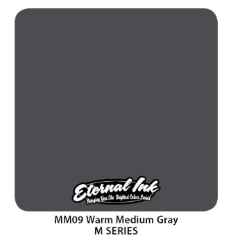 "Краска Eternal ""Warm Medium Gray"" для татуировки 1/2 унции - 15 мл"