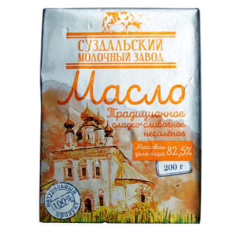 Масло Суздальское 82.5% пачка ИП