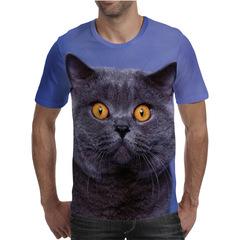 Футболка 3D принт, Кошка / Кот (3Д Cat) 01