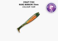Силикон CRAZY FISH NANO MINNOW 2,8