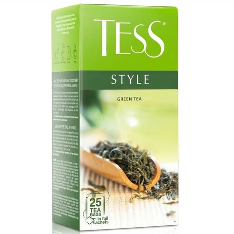 Чай TESS Зеленый Style 25*1,8 г РОССИЯ
