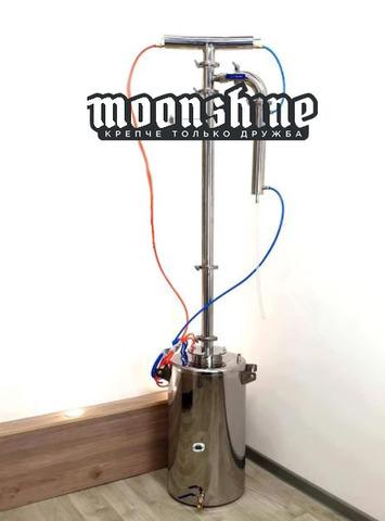 Ректификационная колонна Moonshine Прима Тора  фланец 2 с баком 90 литров