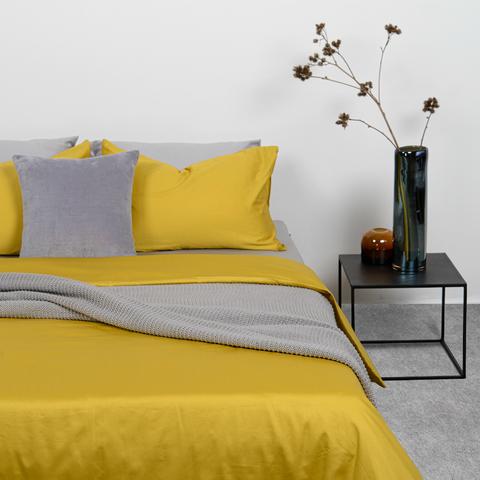 Подушка декоративная из хлопкового бархата серого цвета из коллекции Essential, 45х45 см