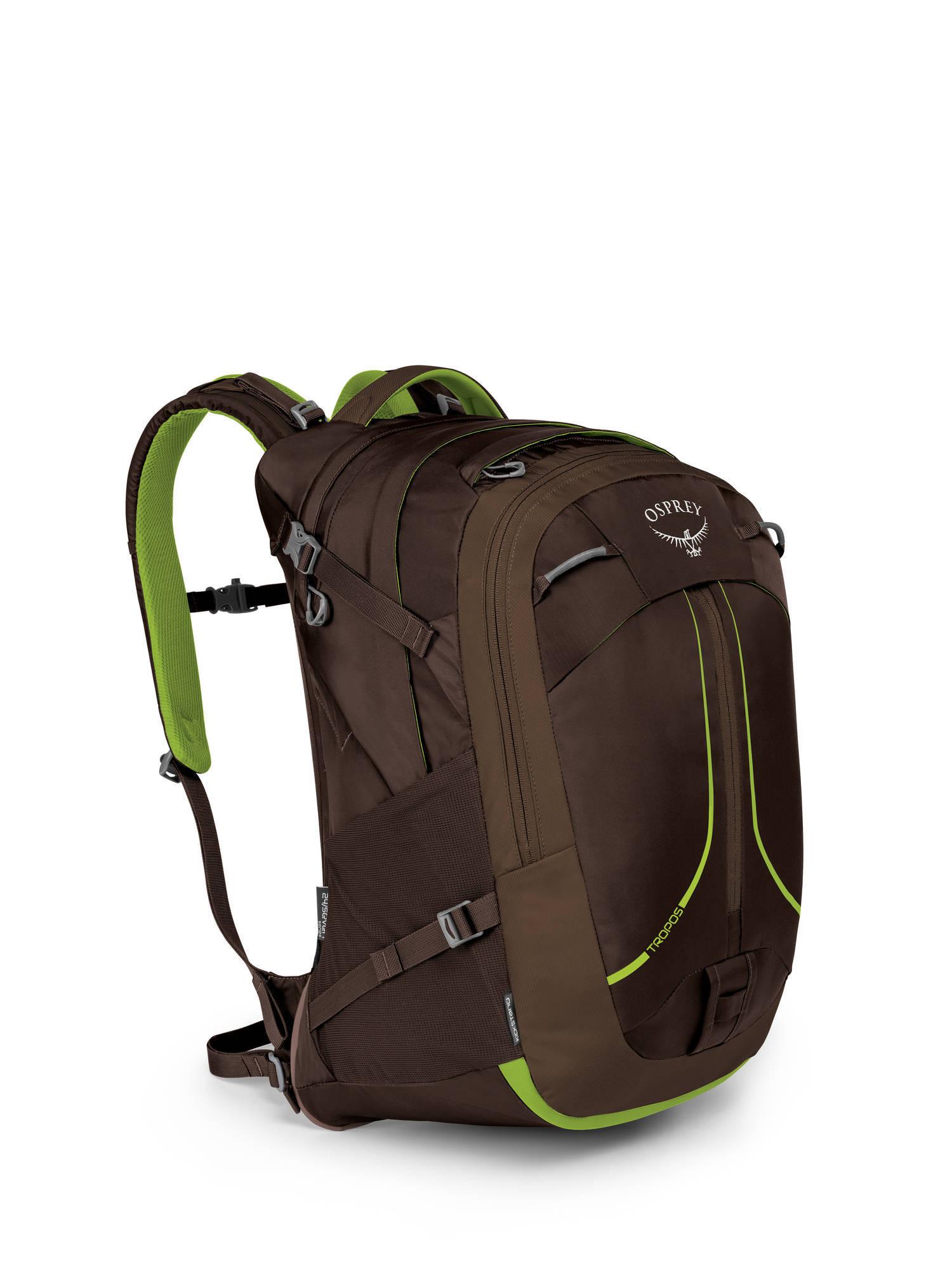 Городские рюкзаки Рюкзак Osprey Tropos 32 Komodo Green Tropos_F17_Side_Komodo_Green_web.jpg