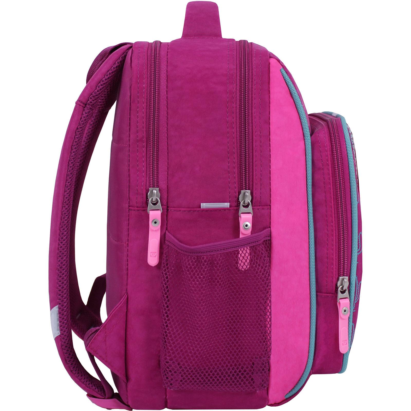 Рюкзак школьный Bagland Школьник 8 л. 143 малина 617 (00112702) фото 2