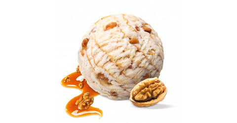 Мороженое грецкий орех в кленовом сиропе (пломбир 17,5%) Престиж 1,3кг (2,5л)
