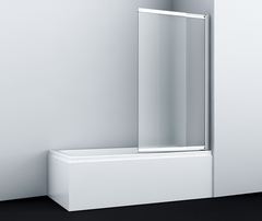 Шторка для ванны WasserKRAFT Main 41S02-100R Matt glass 100 см