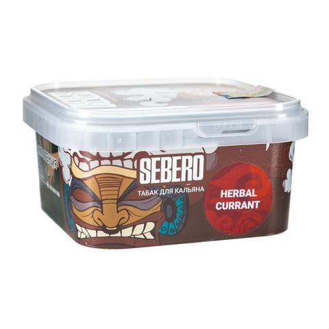 Табак Sebero 300 г Herbal-Currant (Ревень-Чёрная смородина)