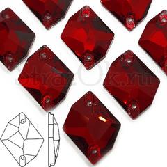 Стразы пришивные стеклянные Garnet темно-красные купить
