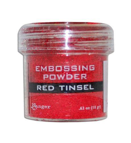 Пудра для эмбоссинга Ranger Ink- RED TINSEL
