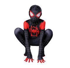 Черный костюм Человека-паука из мультфильма