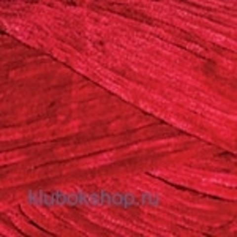 Пряжа Velour (YarnArt) 846 Красный - купить в интернет-магазине недорого klubokshop.ru