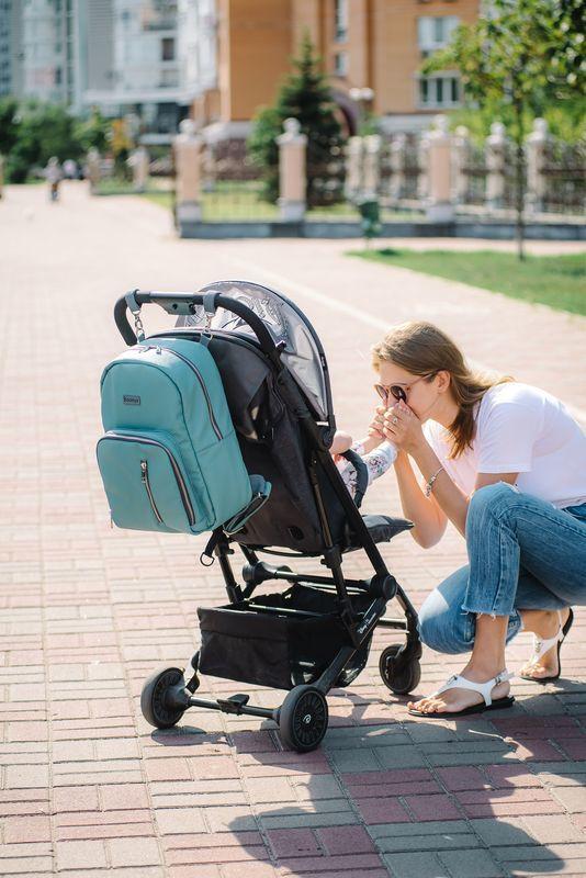 Рюкзак для мамы Chic Aquamarine