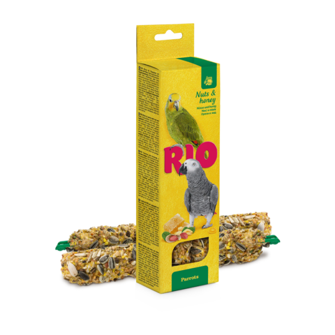 Rio Палочки для попугаев с медом и орехами