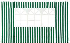 Стенка с окном (зеленая) 1,95х2,95 4110