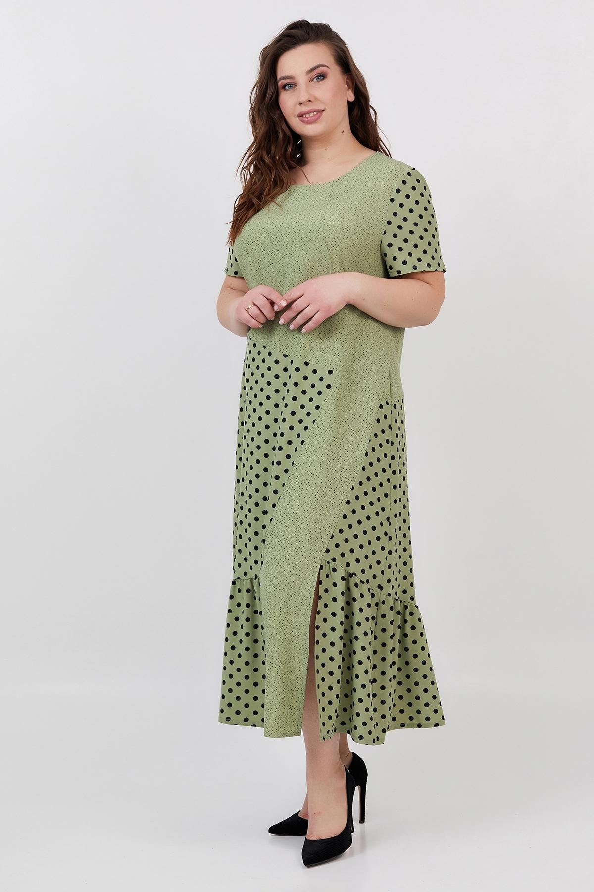 Сукня Магдалина (оливка)