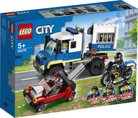 Lego konstruktor City Police Prisoner Transport