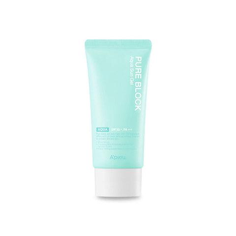 A'Pieu Pure Block Aqua Sun Gel SPF50+ PA+++ увлажняющий солнцезащитный гель