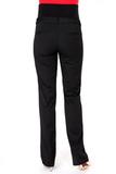 Утепленные брюки для беременных 08115 черный