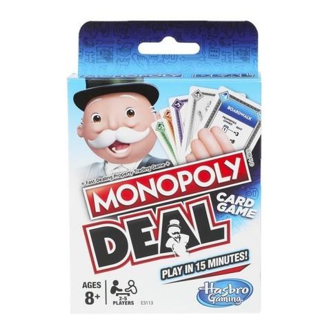 Hasbro: Настольная карточная игра Монополия Сделка E3113 — Monopoly Deal Card Game — Хасбро