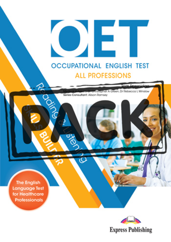 OET Reading & Listening Skills Builder: All professions - Student's Book (with DigiBooks App)