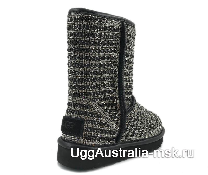UGG Classic Short Pearl Black