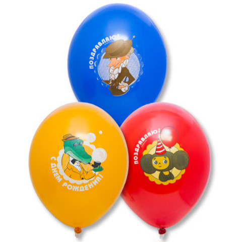 Воздушные шары Чебурашка