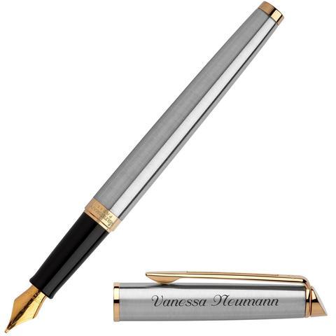 Перьевая ручка Waterman Hemisphere, цвет: GT, перо: F123