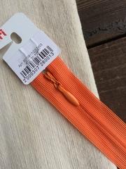 Молния потайная Т3, Riri, 22см, оранжевый