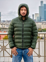 Joutsen Light пуховик Ruska темно-зеленый