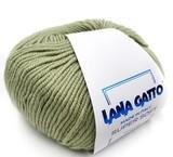 Пряжа Lana Gatto Supersoft 9067 светлая фисташка
